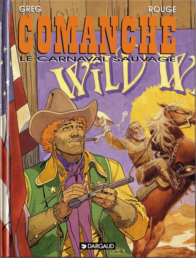 Couverture de Comanche -13- Le carnaval sauvage
