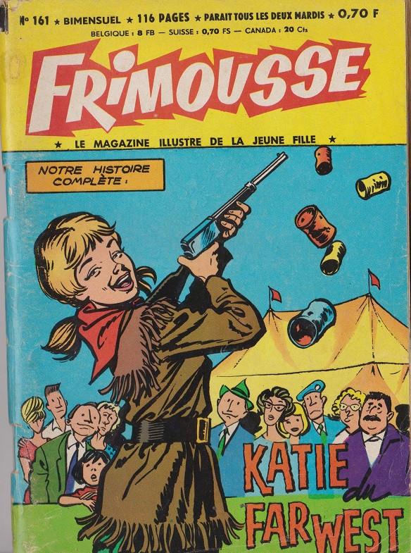 Couverture de Frimousse et Frimousse-Capucine -161- Nora, la fille du shériff