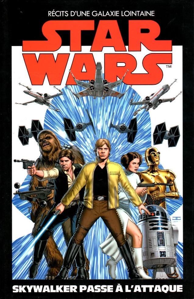 Couverture de Star Wars - Récits d'une Galaxie Lointaine -1- Skywalker passe à l'attaque