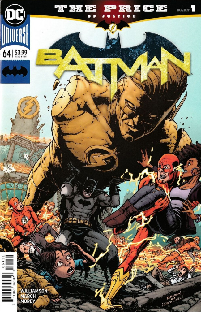 Couverture de Batman (DC Comics - 2016) -64- The Price, Part One