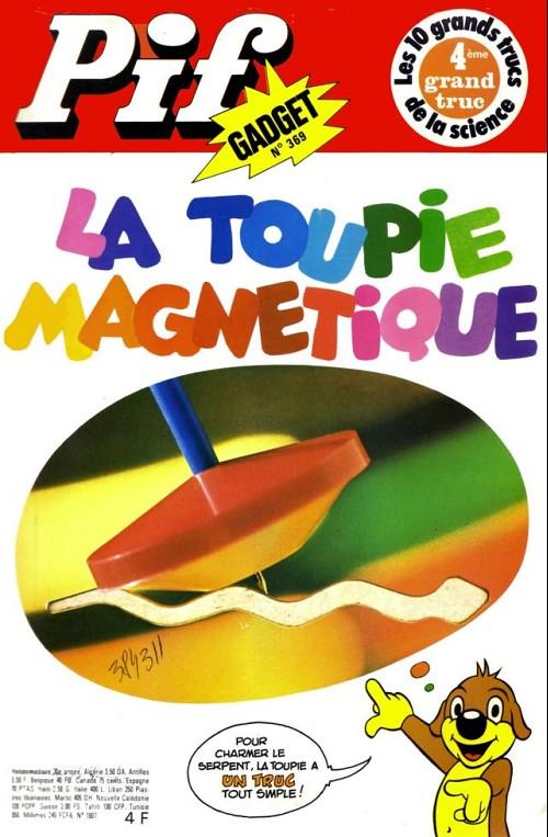 Couverture de Pif (Gadget) -369- La toupie magnetique