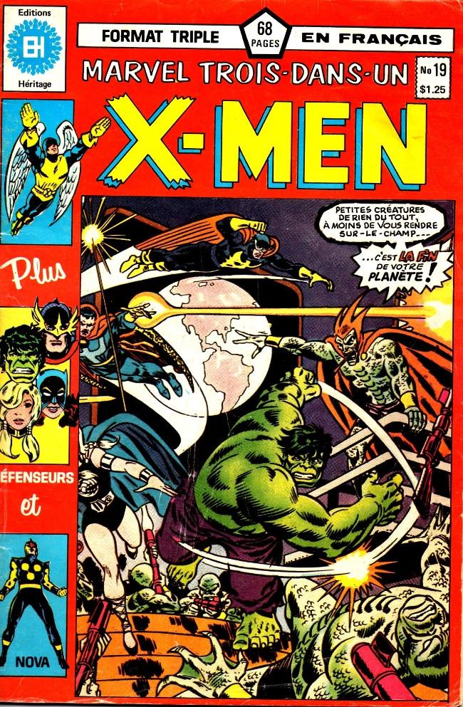 Couverture de X-Men (Éditions Héritage) -19- Jeux d'esprit !
