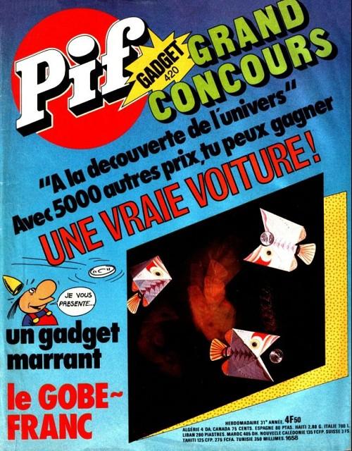 Couverture de Pif (Gadget) -420- Le gobe-franc