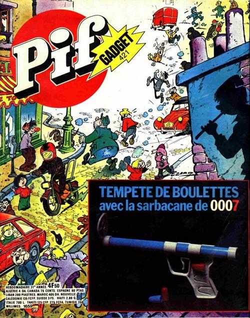 Couverture de Pif (Gadget) -421- La sarbacanne de 0007