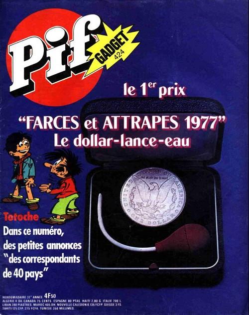 Couverture de Pif (Gadget) -424- Le dollard lance eau