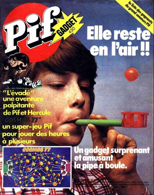 Couverture de Pif (Gadget) -430- La pipe à boule
