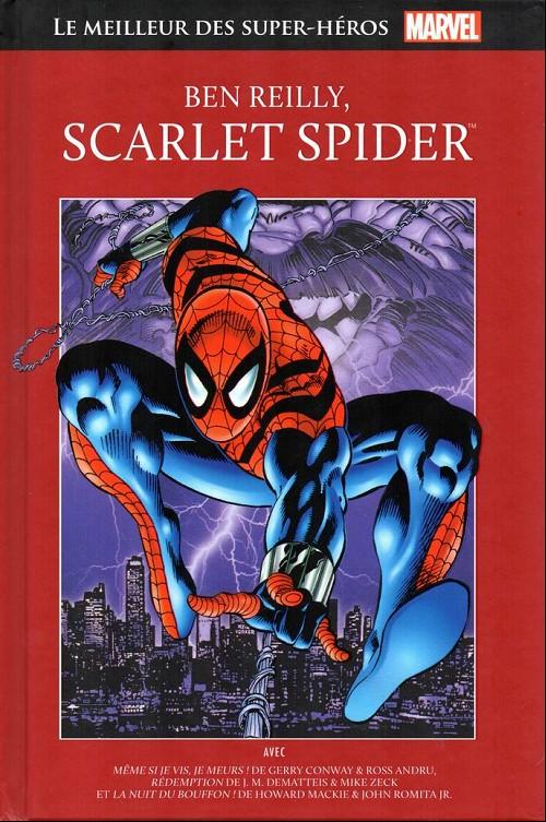 Couverture de Marvel Comics : Le meilleur des Super-Héros - La collection (Hachette) -80- Ben reilly, scarlet spider