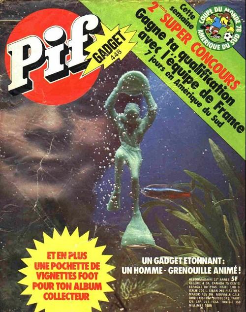 Couverture de Pif (Gadget) -448- Un homme–grenouille animé !