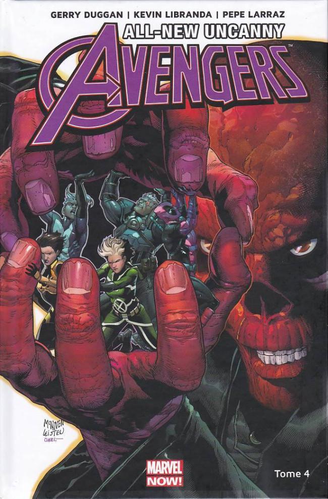 Couverture de All-New Uncanny Avengers -4- Crane Rouge