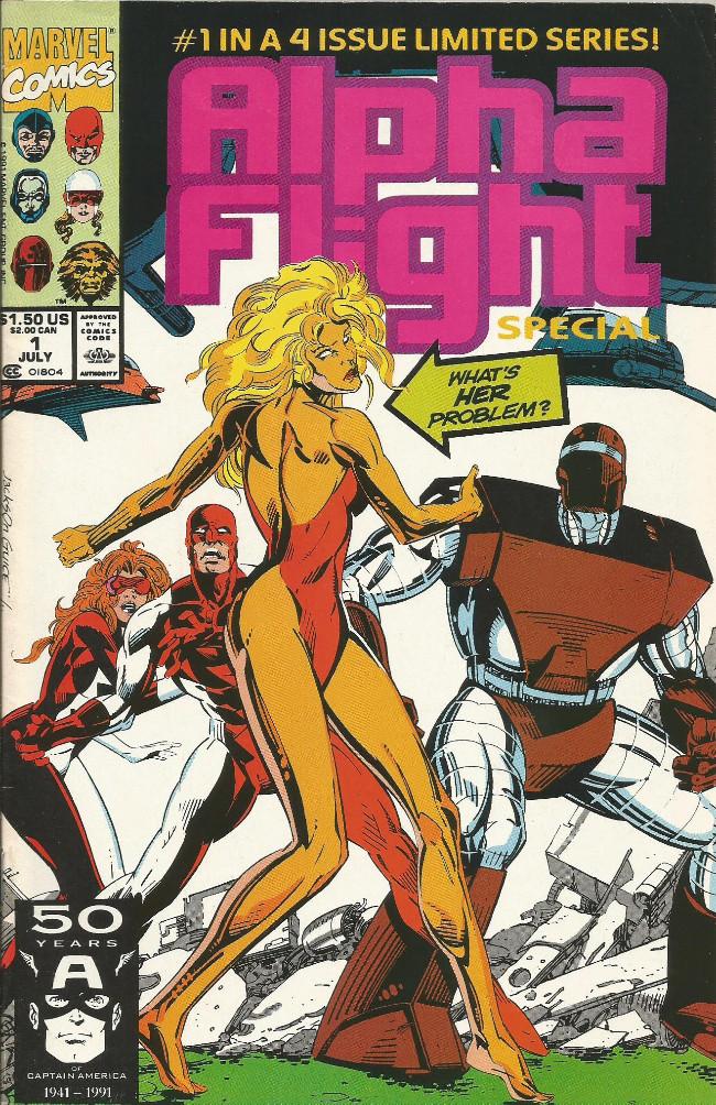 Couverture de Alpha Flight Special (1991) -1- The final option...