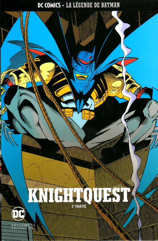 Couverture de DC Comics - La légende de Batman -3924- Knightquest - 2e partie
