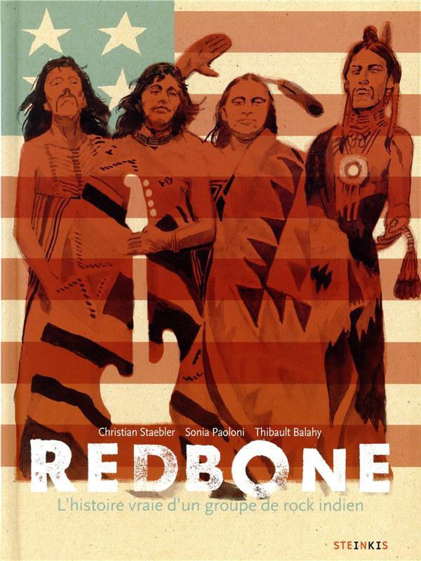 Couverture de Redbone : L'histoire vraie d'un groupe de rock indien