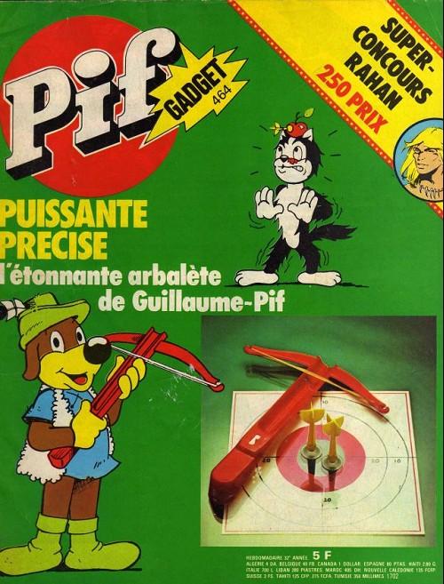 Couverture de Pif (Gadget) -464- L'arbalète de Guillaume–Pif