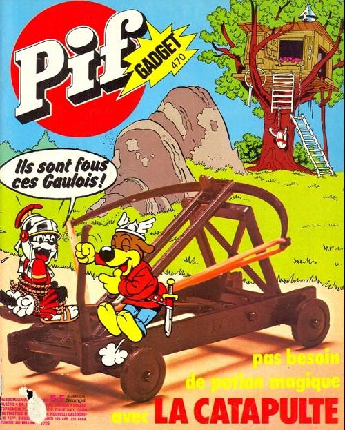 Couverture de Pif (Gadget) -470- La catapulte