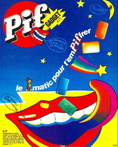 Couverture de Pif (Gadget) -477- Le pifmatic