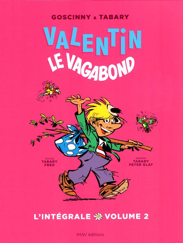 Couverture de Valentin le vagabond (Intégrale) -2- L'Intégrale volume 2