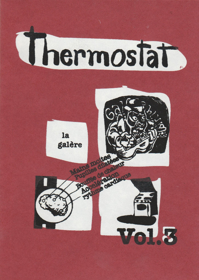 Couverture de Thermostat -3- La galère