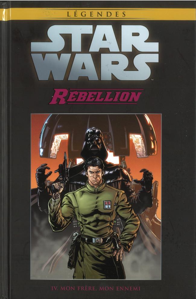 Couverture de Star Wars - Légendes - La Collection (Hachette) -8550- Rébellion - IV. Mon Frère, Mon Ennemi