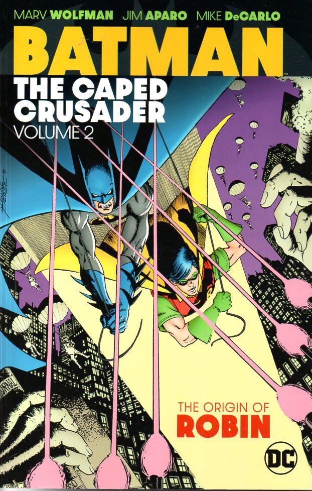 Couverture de Batman Vol.1 (DC Comics - 1940) -INT02- The Caped Crusader