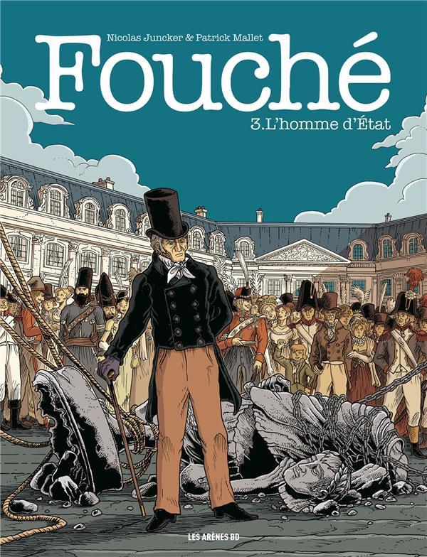 Couverture de Fouché -3- L'homme d'État
