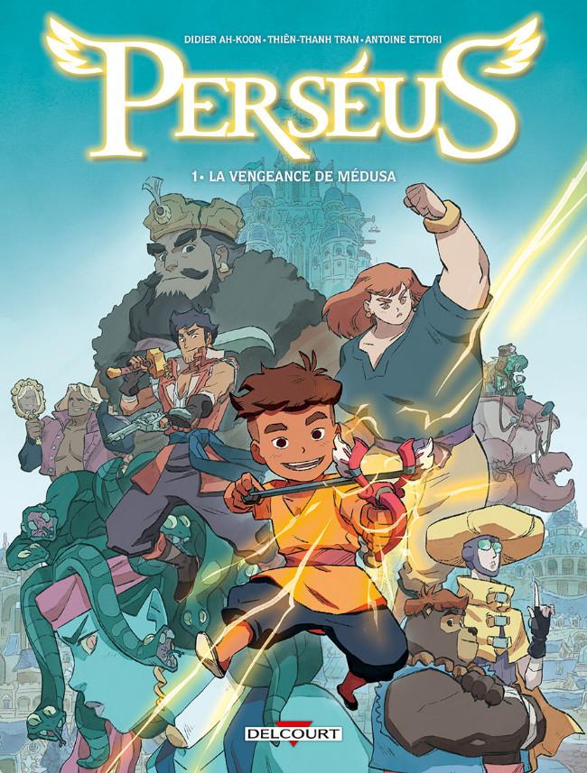 Couverture de Perséus -1- La vengeance de Médusa