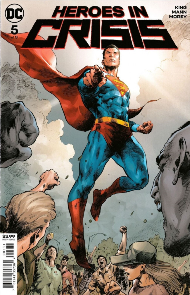 Couverture de Heroes in Crisis (2018) -5- Blood in the Way