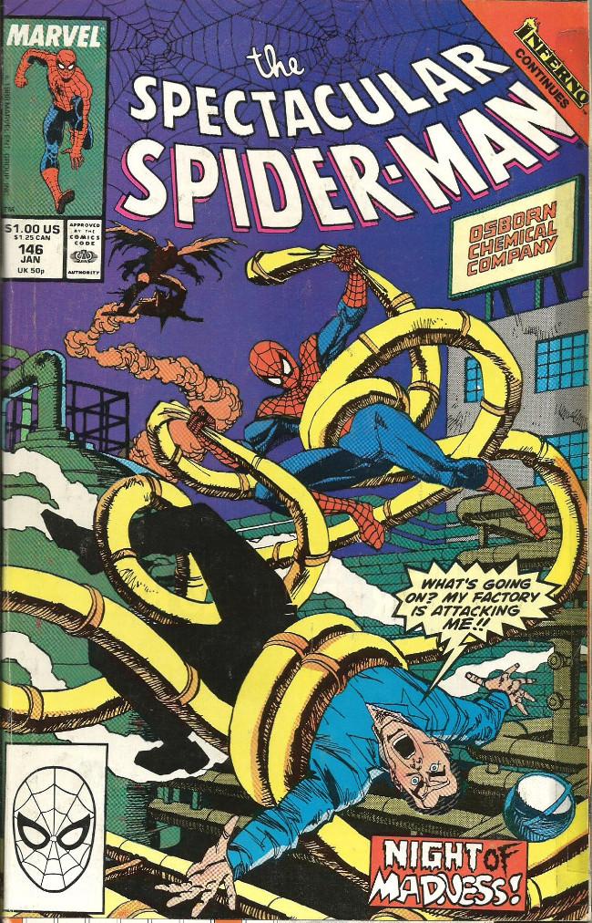 Couverture de Spectacular Spider-Man (The) (1976) -146- Demon night