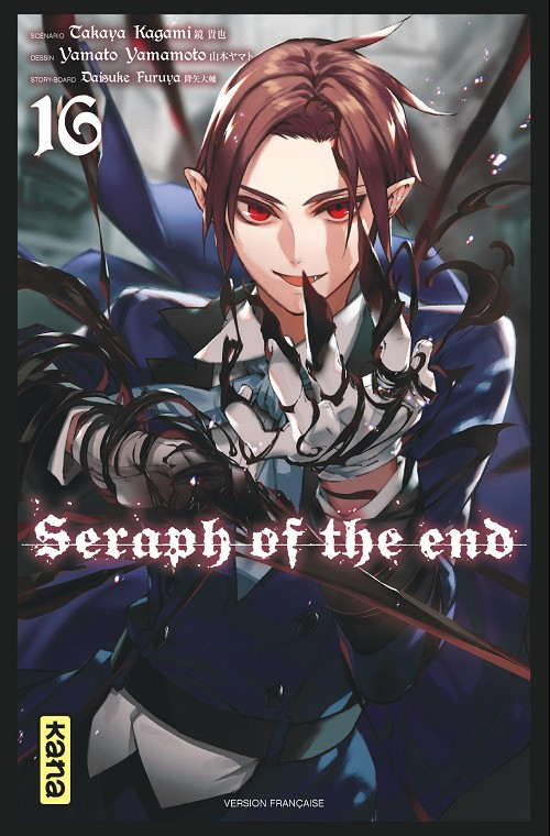 Couverture de Seraph of the End -16- Tome 16
