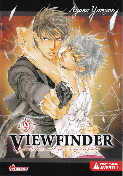 Couverture de Viewfinder -9- My heart races with you in my viewfinder