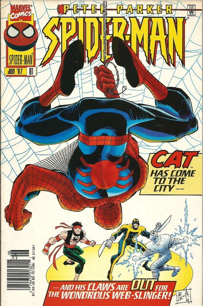 Couverture de Spider-Man (1990) -81- Shadow of the cat