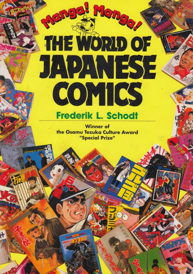 Couverture de (DOC) Études et essais divers - Manga! Manga! The World of Japanese Comics