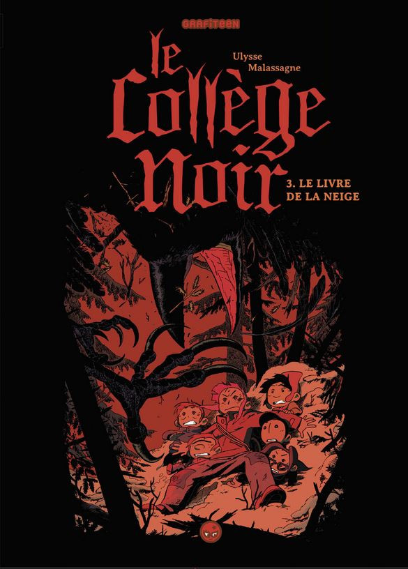 Couverture de Le collège noir -3- Le livre de l'hiver