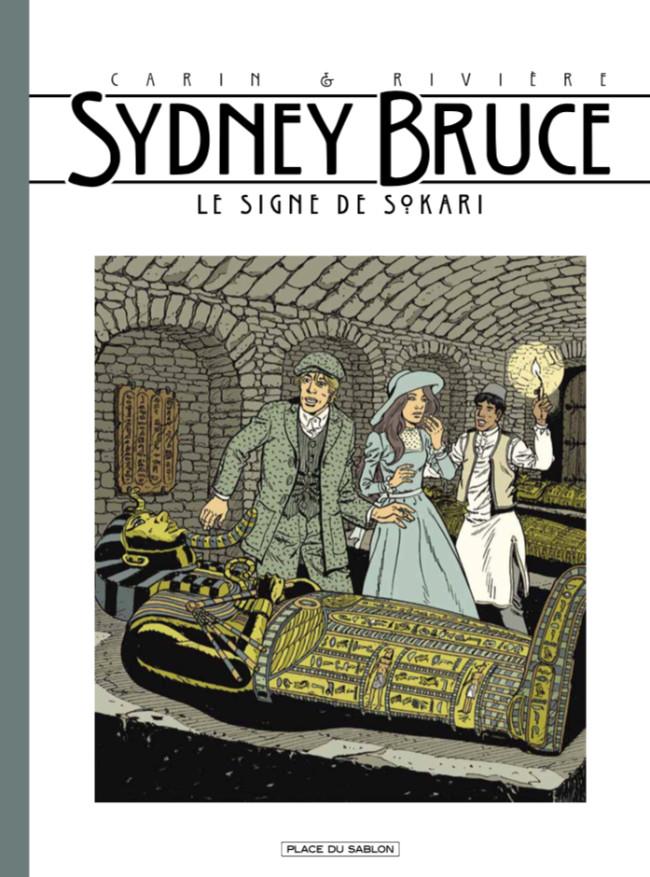 Couverture de Sydney Bruce -3- Le Signe de Sokari