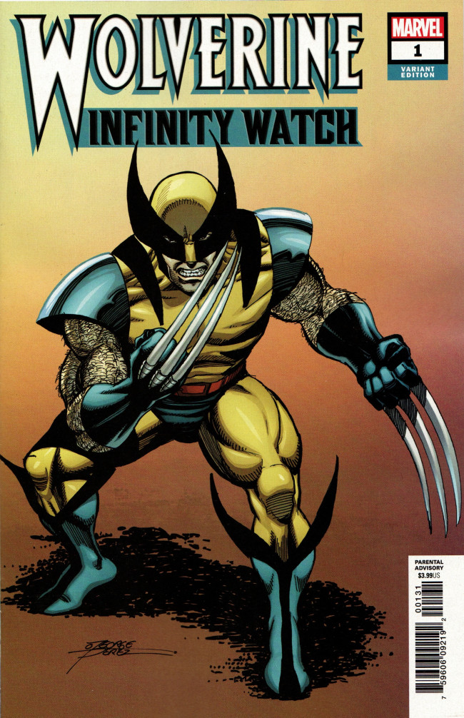 Couverture de Wolverine: Infinity Watch (2019) -1b- Issue #1 - Perez Variant