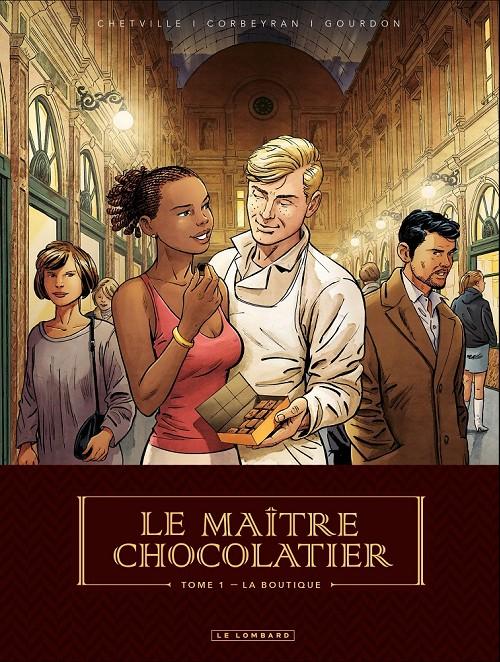 Couverture de Le maître chocolatier -1- La boutique