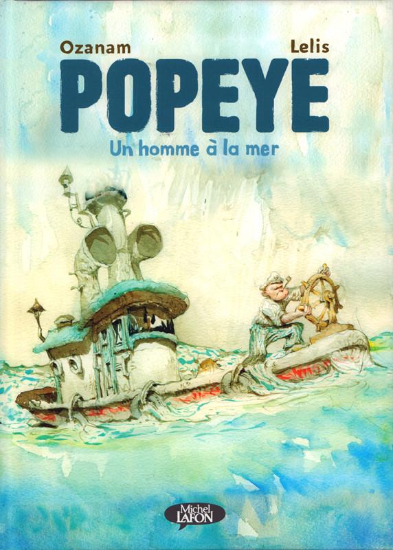 Couverture de Popeye - Un homme à la mer