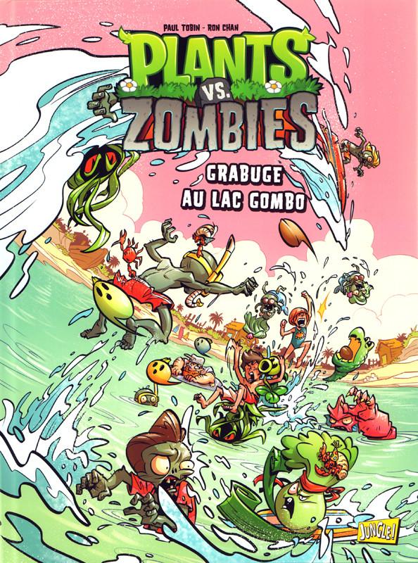 Couverture de Plants vs. zombies -10- Grabuge au Lac Gombo