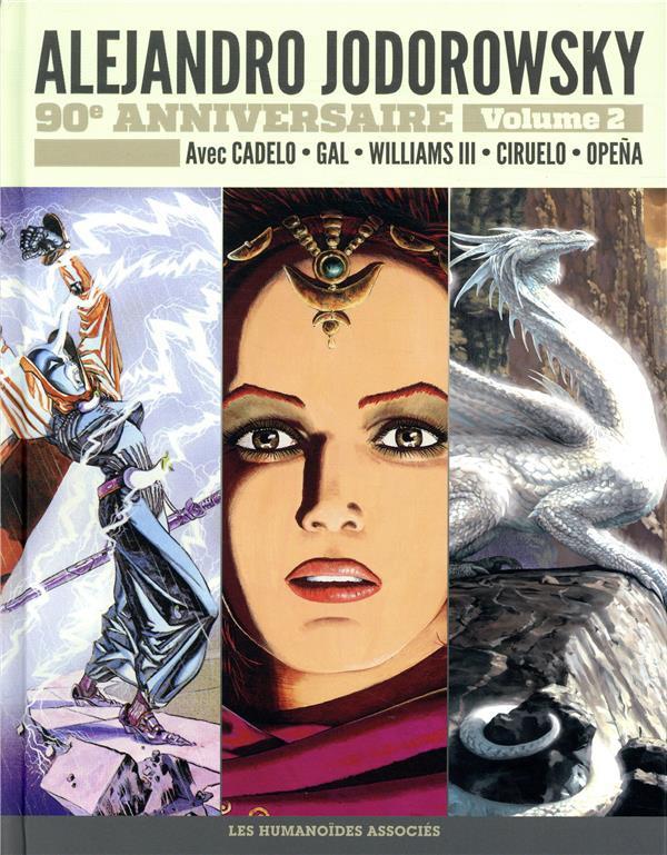 Couverture de Alejandro Jodorowsky 90e anniversaire -2- Volume 2