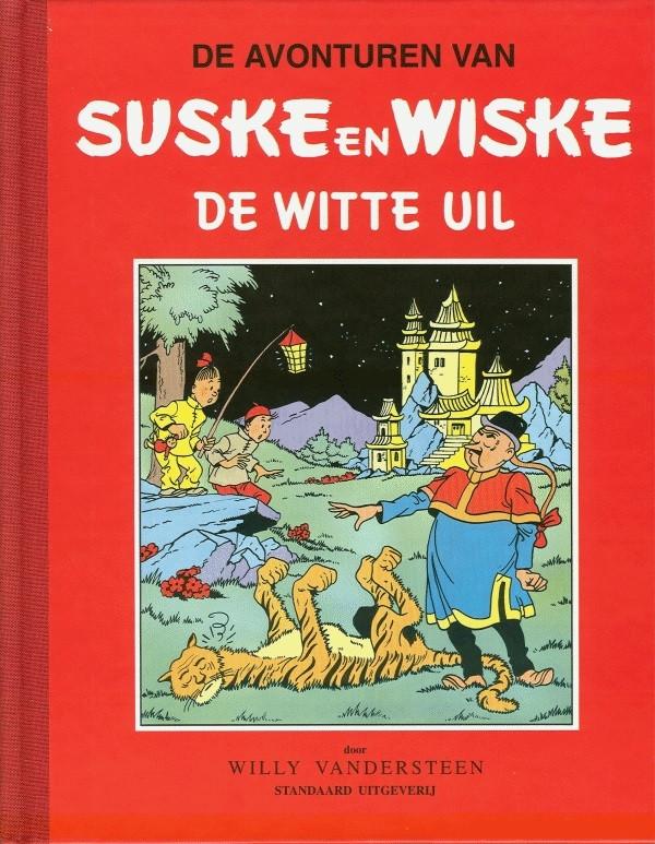 Couverture de Suske en Wiske Klassiek - Rode reeks -9- De witte uil