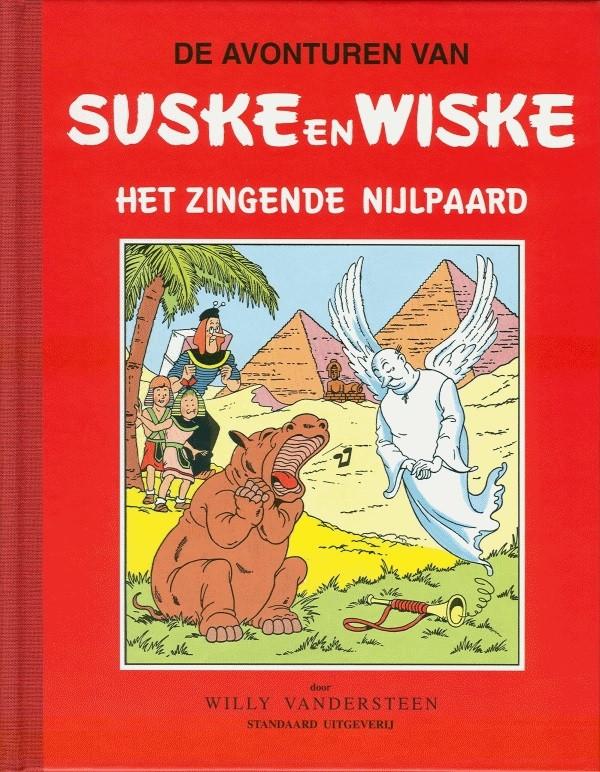 Couverture de Suske en Wiske Klassiek - Rode reeks -16- Het zingende nijlpaard