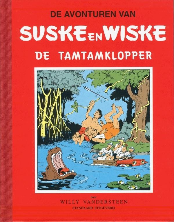 Couverture de Suske en Wiske Klassiek - Rode reeks -24- De tamtamklopper