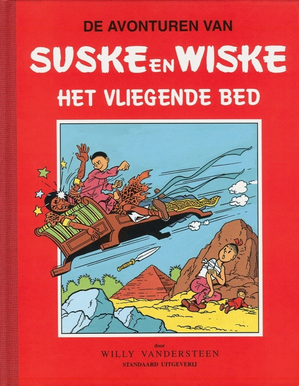 Couverture de Suske en Wiske Klassiek - Rode reeks -39- Het vliegende bed