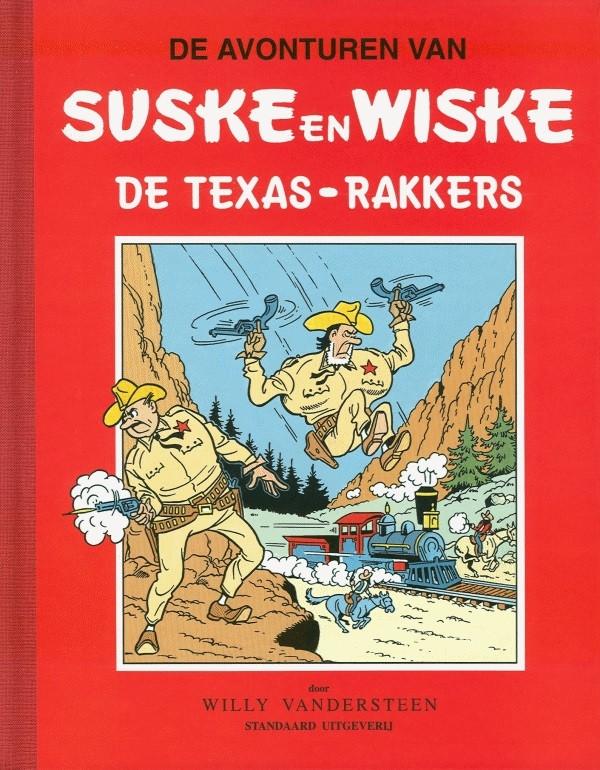 Couverture de Suske en Wiske Klassiek - Rode reeks -40- De Texas-rakkers