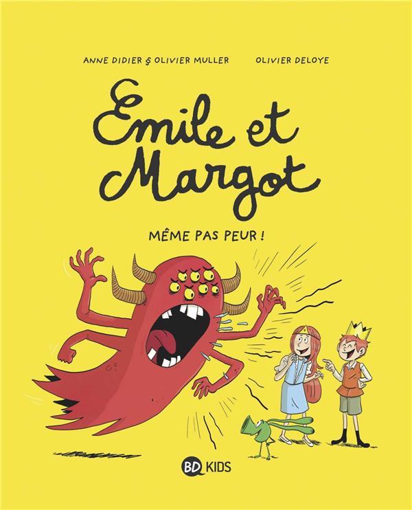 Couverture de Émile et Margot -9- Même pas peur !