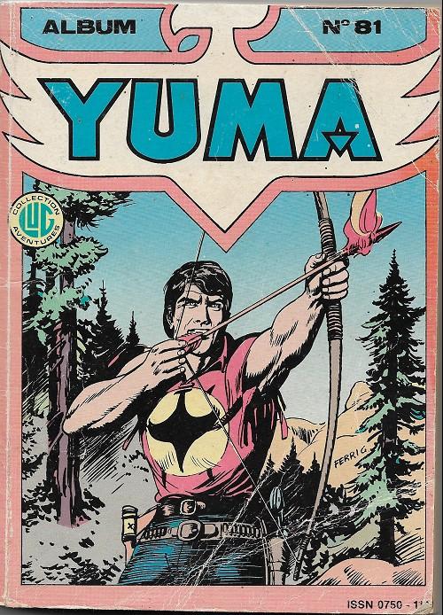 Couverture de Yuma (1re série) -Rec81-  Album N°81 (du n°294 au n°296)