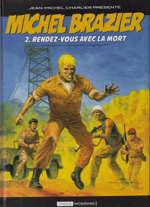 Couverture de Michel Brazier -2- Rendez-vous avec la mort