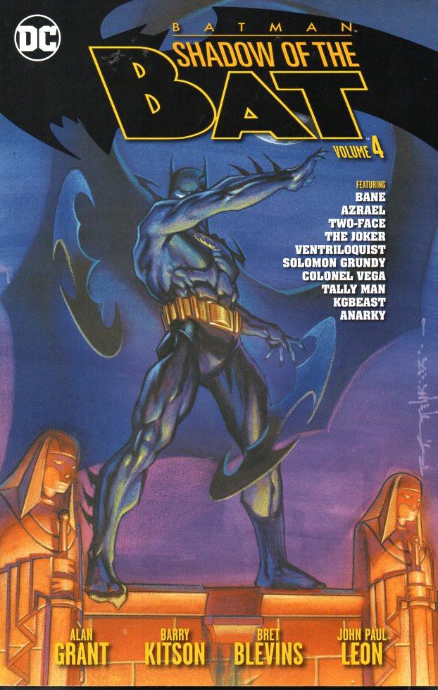 Couverture de Batman: Shadow of the Bat (1992) -INT04- Volume 4