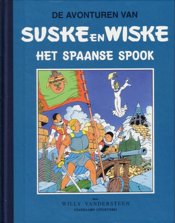 Couverture de Suske en Wiske Klassiek - Blauwe reeks -1- Het Spaanse spook