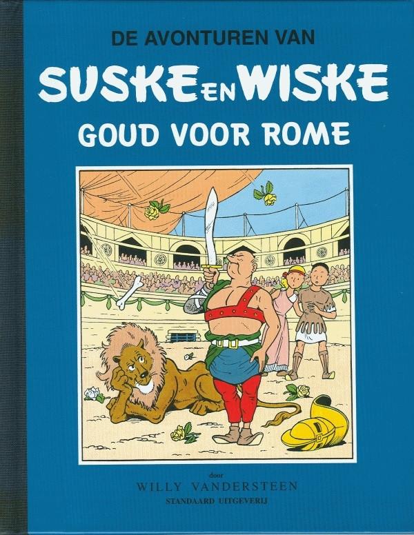 Couverture de Suske en Wiske Klassiek - Blauwe reeks -5- Goud voor Rome