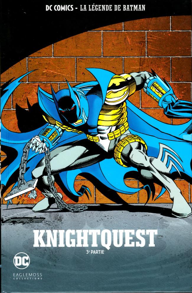 Couverture de DC Comics - La légende de Batman -4025- Knightquest - 3e partie